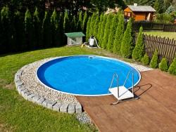 Basen kanadyjski okrągły śr. 4,6m, gł.1,2 m całoroczny