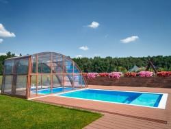 Sharp Cornered Rectangle Pool
