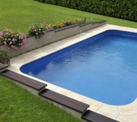 Skimmer-Schwimmbecken